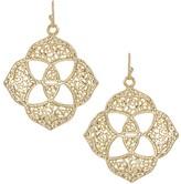 Kendra Scott Dawn Medallion Earrings in Gold