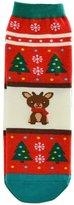 Pooqdo(TM) 3D Cartoon Christmas Snowman Socks Women Cotton Socks Floor