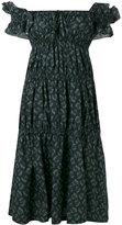 Hache off shoulder dress - women - Cotton - 38