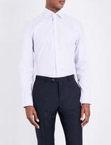 Thomas Pink Strummer texture slim-fit cotton shirt