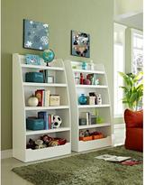 Altra Furniture Mia Kids 4-Shelf Bookcase in White