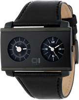 01 The One 01TheOne AN05BK01B1 45.6mm Stainless Steel Case Black Calfskin Mineral Men's Watch