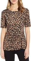 Chaus Side Knot Animal Top