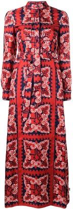 Valentino Bandana Print Dress