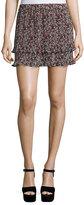 Derek Lam 10 Crosby Pleated Convertible Chiffon Cami/Skirt, Confetti