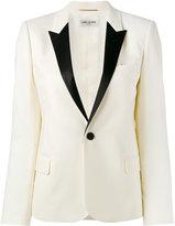 Saint Laurent dinner jacket - women - Silk/Viscose/Wool - 40