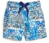 Vilebrequin Toddler's & Little Boy's Bear Hotel Swim Trunks