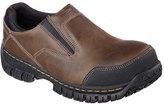 Skechers Men's Relaxed Fit Hartan Steel Toe Slip On Shoe
