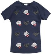 Little Marc Jacobs Movies & Popcorn Cotton Sweatshirt Dress