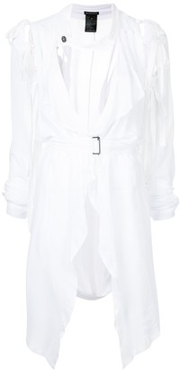 Ann Demeulemeester McLottie tie sleeve dress