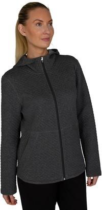 Jockey Women's Sport Traverse Hooded Quilted Jacket