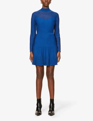 Reiss Clemmy stretch-knit mini dress