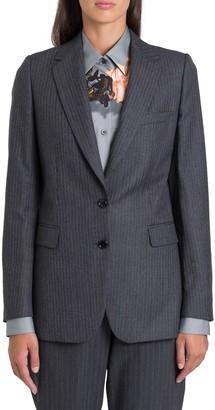 Dries Van Noten Pinstriped Single-breasted Wool Blazer