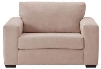 Eton Argos Home Fabric Cuddle Chair - Old Rose