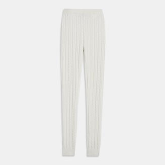 Theory Legging in Cable Knit Cashmere