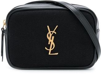 Saint Laurent Logo Plaque Belt Bag