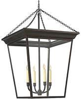 Visual Comfort & Co. Large Cornice 4-Light Lantern - Bronze