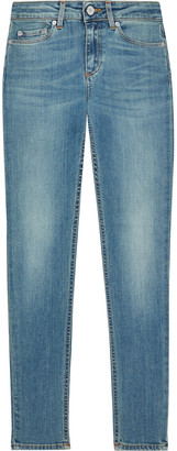 Acne Studios Skin 5 Cropped Faded Mid-rise Skinny Jeans