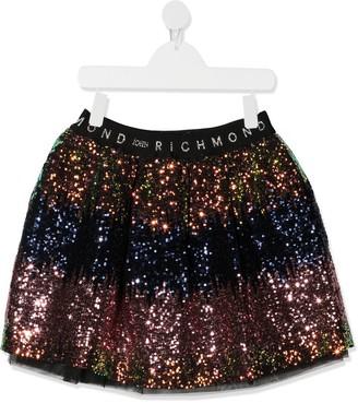 John Richmond Junior Sequin Embellished Skirt