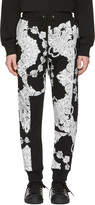 McQ by Alexander McQueen Black Phoenix Paisley Lounge Pants