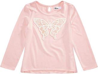 Epic Threads Little Girls Lace Butterfly T-Shirt