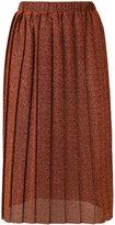 Alcoolique - 'Zoe' midi skirt - women - Polyester - S