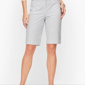 Talbots Perfect Shorts - Bermuda - Railroad Stripe