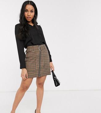 Asos DESIGN Petite soft long sleeve shirt in black