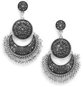 Cara Women's Chandelier Drop Earrings