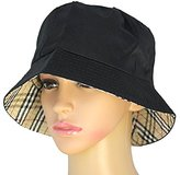ReFaXi Fashion Hiking Fishing Cotton Blended Sun Protection Black Hat Cap For Unisex