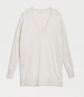 LOFT Maternity V-Neck Tunic Sweater