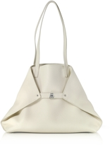 Akris Ecru Cervocalf Ai Medium Shoulder Bag