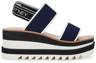 Stella McCartney 80 Neoprene Wedge Sandals