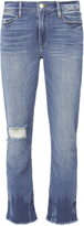 Frame Le High Merriweather Straight Jeans