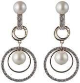 Carolee Orbital Links Drama Clip-On Earrings