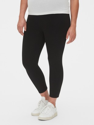 Gap Maternity Pure Body Full Panel Crop Leggings