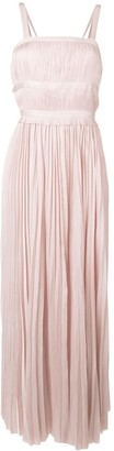 Ulla Johnson Sleeveless Pleated Dress