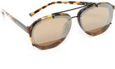 3.1 Phillip Lim Mirrored Aviator Sunglasses