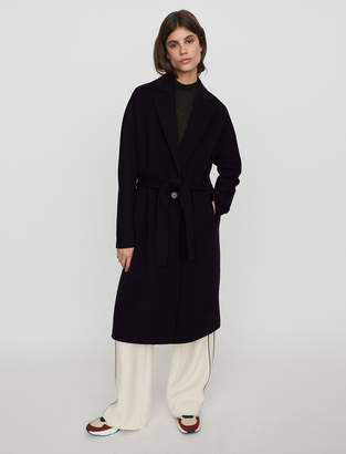 Maje Belted double face coat