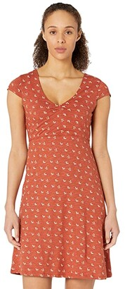 Toad&Co Rosemarie Dress (Picante Geo Print) Women's Dress