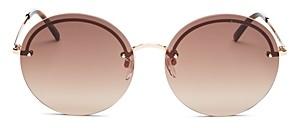 Marc Jacobs Women's Marc Rimless Round Sunglasses, 60mm