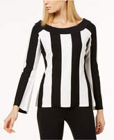 INC International Concepts I.N.C. Striped Sweater, Created for Macy's