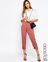 ASOS Tall ASOS TALL Casual Woven Textured Peg Pants