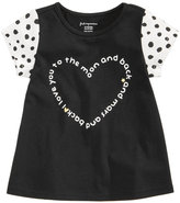 First Impressions Heart-Print Cotton T-Shirt, Baby Girls (0-24 months), Created for Macy's