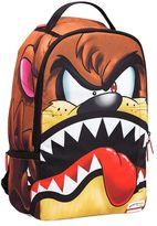 Sprayground Taz Shark Print Nylon Canvas Backpack