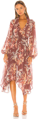 Keepsake Unravel Midi Dress