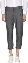 Grey Daniele Alessandrini 3/4-length shorts - Item 13056558