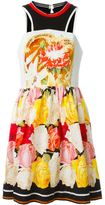 Mary Katrantzou 'Densis' floral dress - women - Silk/Cotton/Polyamide/Triacetate - 10