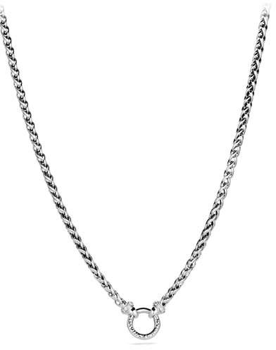 David Yurman 4mm Wheaton Chain Necklace, 18""