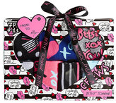 Betsey Johnson 7 Pack Dots And Bows Crew Sock Gift Box